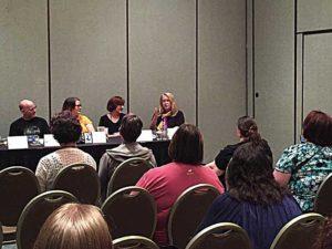 Gail Z. Martin at Coastal Magic writing convention