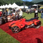 Customized Spyder @ Maggie Valley Spyder Owners Event