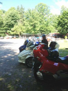 @ Maggie Valley Spyder Owners Event