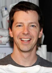 Sean Hayes, playing Jack McFarland