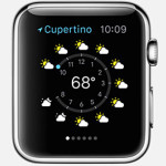 Weather on your Apple Watch