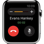 Answer phone calls with your Apple Watch