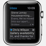 Email via Apple Watch