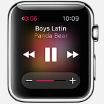 Control music on iPhone with Apple Watch